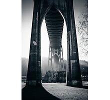 Under St. John's Bridge Photographic Print