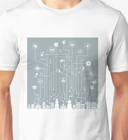 Music a city Unisex T-Shirt