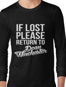 SUPERNATURAL  Long Sleeve T-Shirt