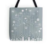 Music a city Tote Bag