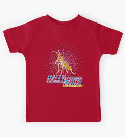 Rally Mantis Burst! Kids Tee