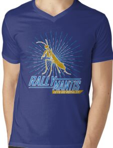 Rally Mantis Burst! Mens V-Neck T-Shirt