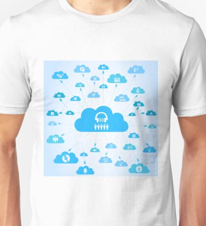 Music a cloud Unisex T-Shirt