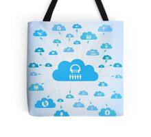 Music a cloud Tote Bag