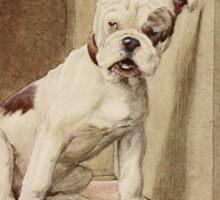 Beautiful Monster – My Dog (Maeterlinck, Maurice) Sticker