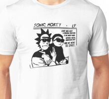 Sonic Morty v2 Unisex T-Shirt