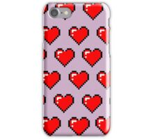 Pixel Hearts iPhone Case/Skin