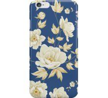 Design of vintage floral pattern  iPhone Case/Skin