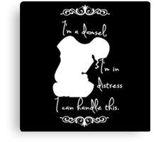 Disney Princesses: Megara (Hercules) *White version* Canvas Print