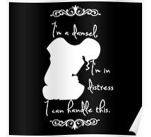 Disney Princesses: Megara (Hercules) *White version* Poster
