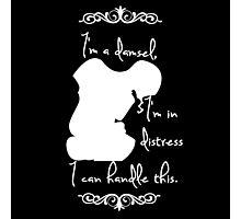 Disney Princesses: Megara (Hercules) *White version* Photographic Print