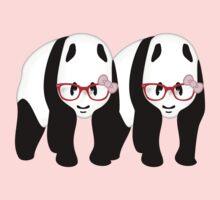 Lesbian Pandas One Piece - Short Sleeve