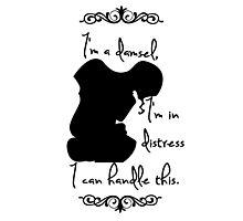 Disney Princesses: Megara (Hercules) *Black version* Photographic Print