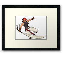 Sendari, One Girl Army Framed Print