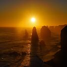 Port Campbell Sunset by Harry Oldmeadow
