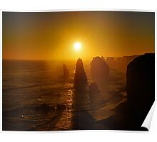 Port Campbell Sunset Poster