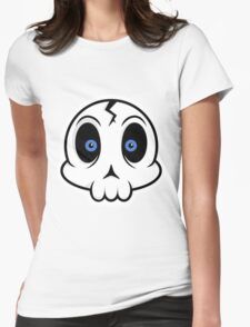 Skull Cute Womens Fitted T-Shirt