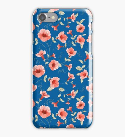 Bindweed seamless tile for your design iPhone Case/Skin