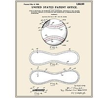 Baseball Patent - Colour Photographic Print