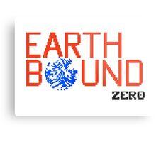 Earth Bound Zero Logo Metal Print