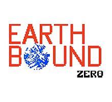 Earth Bound Zero Logo Photographic Print