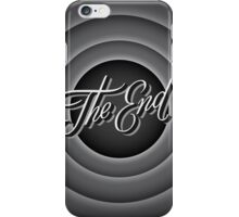 Retro Movie Ending Screen iPhone Case / iPad Case  / Samsung Galaxy Case / Tote Bag / Pillow  / Duvet    iPhone Case/Skin