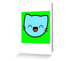 Kawaii Kitty Cats 2048 - tile 32 Greeting Card