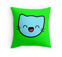 Kawaii Kitty Cats 2048 - tile 32 Throw Pillow