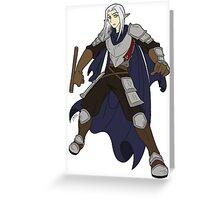 Silver, Who Still Burns Greeting Card