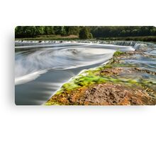 Widest waterfall in Latvia Canvas Print