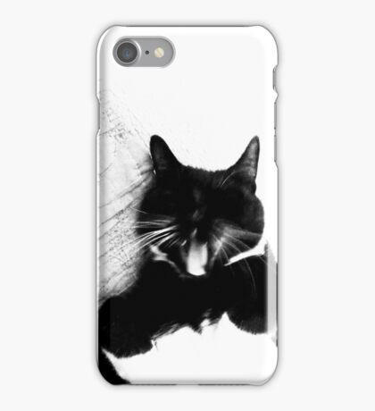 Fierce Tuxedo Cat iPhone Case/Skin