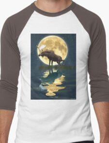 Moose Moon Men's Baseball ¾ T-Shirt