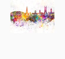 Derby skyline in watercolor background Unisex T-Shirt