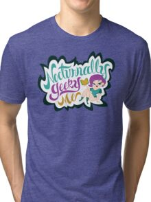 Nocturnally Geeky Me Banner Tri-blend T-Shirt