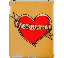 My Heart Belongs to Sasquatch iPad Case/Skin