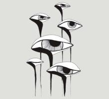 Sad Mushrooms by Aleksandra Kabakova
