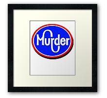 Kroger Murder Framed Print