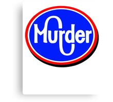 Kroger Murder Canvas Print