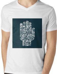 Music hand2 Mens V-Neck T-Shirt