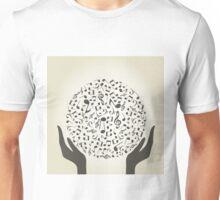 Music hand4 Unisex T-Shirt