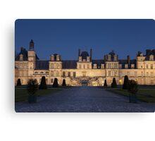 Fontainebleau castle Canvas Print