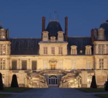 Fontainebleau castle Sticker