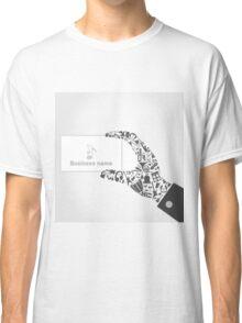 Music hand6 Classic T-Shirt