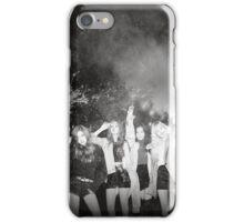 black pink 9 iPhone Case/Skin