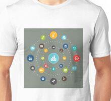 Music in an orbit Unisex T-Shirt