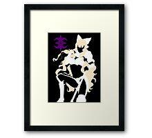 Fire Emblem - Charlotte Silhouette Framed Print