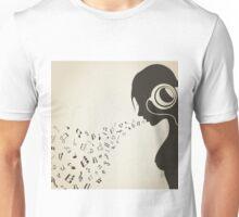 Music the girl2 Unisex T-Shirt
