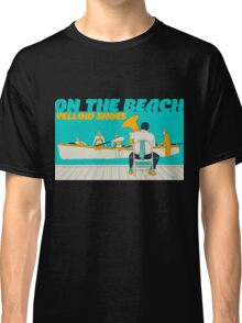On The Beach - Yellow Shoes, acrylic painting Classic T-Shirt