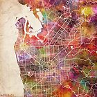 Adelaide map by MapMapMaps