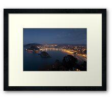 View of San Sebastian Framed Print